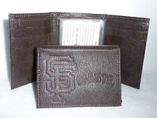 SAN FRANCISCO GIANTS  Leather TriFold Wallet  NEW  br2s