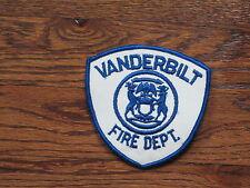 vanderbilt ,canadian, fire department , sew on,new old stock,  ,1960's,set of 2