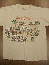 Jimmy Buffett 1993 Tour Large T Shirt Chameleon Caravan Parrothead Margaritavill