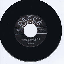 DON WOODY - YOU'RE BARKING UP THE WRONG TREE - Classic Rockabilly - REPRO