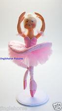 """SUGARPLUM FAIRY! Ballet Dancer Nut Cracker Pink Ballerina 9"""" Annalee Doll NEW!"""