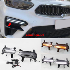 For Kia Forte Cerato 2019-2020 LED DRL Daytime Running Light / Turn signal light