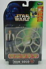 "Star Wars The Power of the Force ""Han Solo mit Geschützturm"" Kenner/ Hasbro 1997"