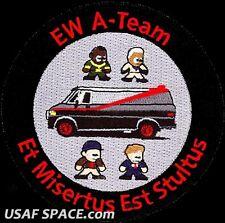 USAF 771st TEST SQUADRON - ELECTRONIC WARFARE - A-TEAM - Edwards AFB, CA PATCH