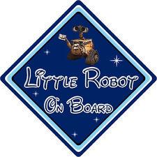 Little Robot On Board Car Sign – Baby On Board – Disney Wall-E DB