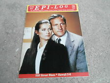 #21 EPI-LOG television magazine ( UNREAD - NO LABEL) HILL STREET BLUES