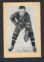 1944-63 Beehive Group II Montreal Canadiens Photos #252 Tom Johnson