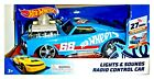 HOTWHEELS HOT WHEELS  LIGHTS & SOUNDS RADIO REMOTE CONTROL CAR AGES 3+