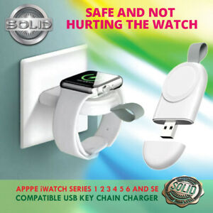 USB Portable Magnetic Wireless Charger For Apple Watch iWatch Series 5/4/3/2/1