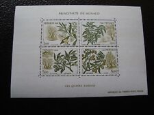 MONACO - timbre yvert et tellier bloc n° 43 n** (jauni) (Y2) stamp