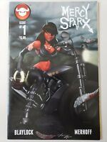 MERCY SPARX Vol 2 #1 (2013) DEVIL'S DUE COMICS COVER C VARIANT EDITION! BLAYLOCK