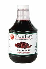"Cranberry Juice Concentrate ""Cold Filled"" ONE QUART  32 day supply"