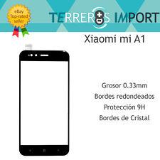 Cristal Templado Pantalla Completa Xiaomi mi A1 Negro 3D