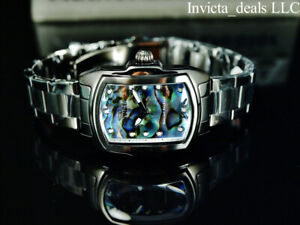 NEW Invicta Women's BABY LUPAH ABALONE DIAL Black Tone Special Edition SS Watch
