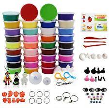 Dr.Pink 36 Colors DIY Modeling Magic Clay Ultra-light Plasticine Eraser Fimo ...