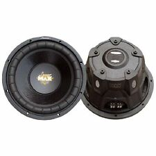 "Lanzar Maxp64 Max Pro 6.5"" 600 Watt Small Enclosure 4 Ohm Subwoofer"
