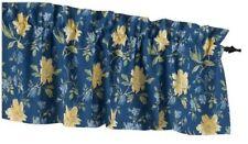 Laura Ashley EMILIE EMILY BLUE & YELLOW FLOWER BLOUSON WINDOW VALANCE COTTON NIP