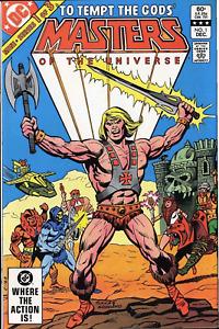 (1982) Masters Of The Universe #1 DC COMICS mini series! HE-MAN! SKELETOR! TEELA