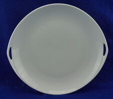 """Rosenthal Donatello White Cake Plate with Handles, 11 3/8"""" x 12 1/4"""""""