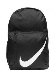 NIKE Rucksack Backpack Schulrucksack mit kleinem Mäppchen Tasche schwarz ca.22L