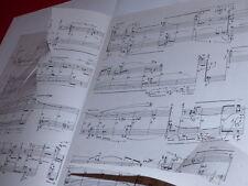 [Coll.R.-JEAN MOULIN ART XXe] 1961 LADISLAV KUPKOVIC VERA KOTASOVA CZ SheetMusic