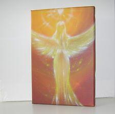 """Engel Bild Leinwanddruck """"Das Herz weiß es"""" Geschenke zur Genesung, Schutzengel"""