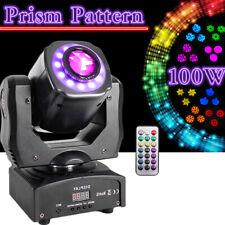 100W Rgbw Gobo Moving Head Stage Lighting Dmx Prism Beam Wedding Dj Light Effect