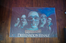 "FINAL DESTINATION 27""x40"" Lenticular 3D Flip effect EMovie Poster Original 2000"