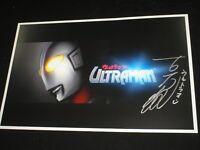 SATOSHI BIN FURUYA Signed ULTRAMAN 11x17 Movie Poster Autograph Japanese RARE