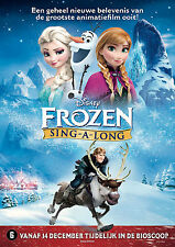 FROZEN   SING  -  A  -  LONG     movie    poster.