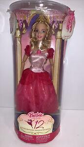 "Rare Barbie 12 Dancing Princesses Princess Genevieve 12"" Doll K4196 New In Box"