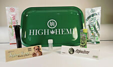 *New* High Hemp Metal Rolling Tray Bundle *Free US Shipping*