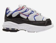 TODDLER GIRL: Nike Little Air Max Plus, Black/Purple/Pink - Size 10C 848217-007