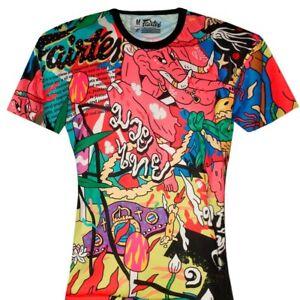 T shirt Fairtex Urface X Muay thai kick boxing mma boxe thai