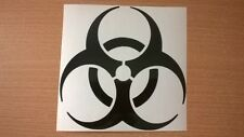 biohazard petrol cap fuel tank vinyl car sticker decal graphic side motorbike