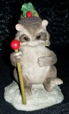 Charming Tails by Dean Griff, # 87/556, The Drum Major Figurine - Used