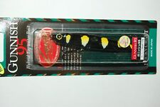 "lucky craft gunnish 95 bass topwater lure 3 1/2"" 3/8oz floating black bumblebee"