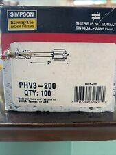 SIMPSON STRONG TIE PHV3-200 Anchor Nails box of 100