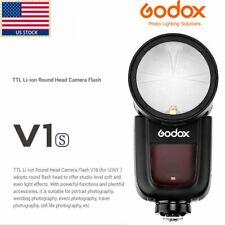 Godox V1-S Ttl On-Camera Round Camera Flash Speedlight Compatible f Sony Camera