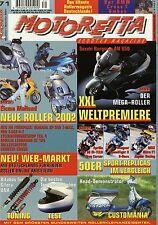 1001SCO Motoretta 71 2001 BMW C1 200 Suzuki Burgman AN 650 Aprilia SR 50 Hyosung