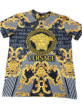 Brand New Summer '20 New With Tags Men's VERSACE T-SHIRT Slim Fit Size M to 3XL
