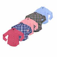 Polo Ralph Lauren Mens Buttondown Shirt Long Sleeve Linen Collared Top New Nwt