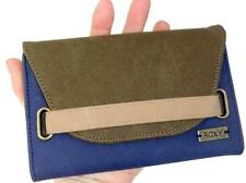 Roxy Chai Latte Wallet Burnt Olive Womens Surf Trifold Suede Purse
