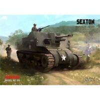 GENUINE PAPER-CARD MODEL KIT - SEXTON Self-Propelled Gun
