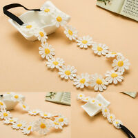 New Sunshine Flower Women Girl Elastic Hairband Headband Festival Wedding