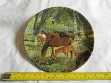 BRADEX NEW FOREST PONIES PLATE (1042)