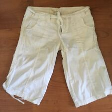 Abercrombie And Fitch white  Bermuda Shorts For Women Size XS