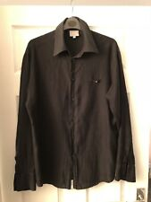 Versace Jeans Couture Men's Vintage Black Shirt Medusa Head Size Medium M