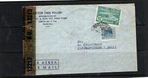 Haiti - Uruguay censored cover - Type S4 Haiti censor stamp