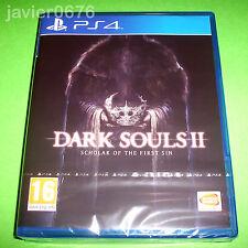 DARK SOULS II SCHOLAR OF THE FIRST SIN - NUEVO Y PRECINTADO PAL ESPAÑA PS4